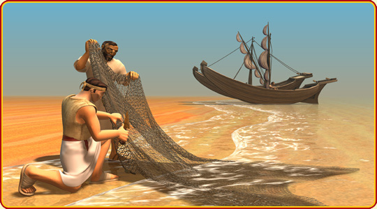 Fishing boat time travellers friends and heroes for Fish in the bible