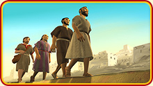 Peter went to Lydda