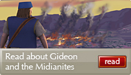 Gideon and the Midianites