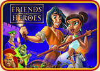 Friends and Heroes poster
